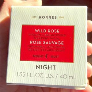 New in box - Korres Wild Rose sleeping facial